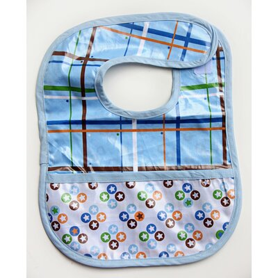 Caden Lane Boutique Star Dot Coated Bib