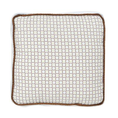 Caden Lane Classic Blue Square Cotton Pillow