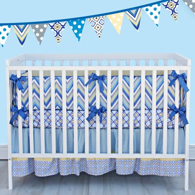 Caden Lane Ikat Crib Bedding Collection