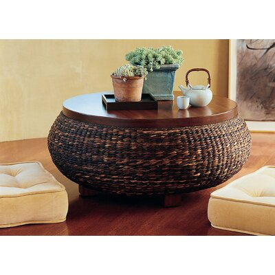 Glass Top Rattan Table Wayfair
