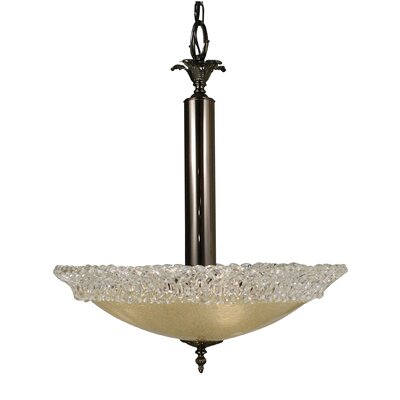 Framburg Brocatto 3 Light Dining Chandelier