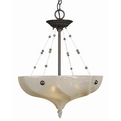 Framburg Giselle 3 Light Dining Chandelier