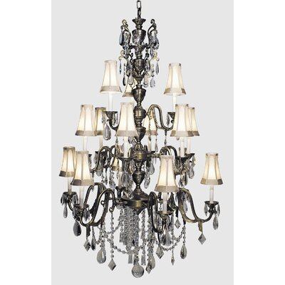 Czarina 15 Light Foyer Chandelier