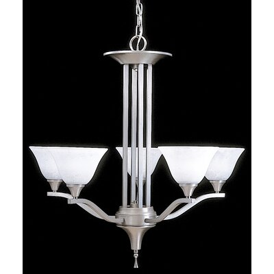 Framburg Bellevue 5 Light Dining Chandelier