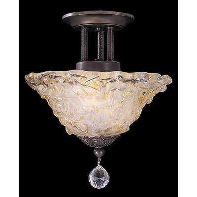 Framburg Rhapsody 2 Light Semi Flush Mount