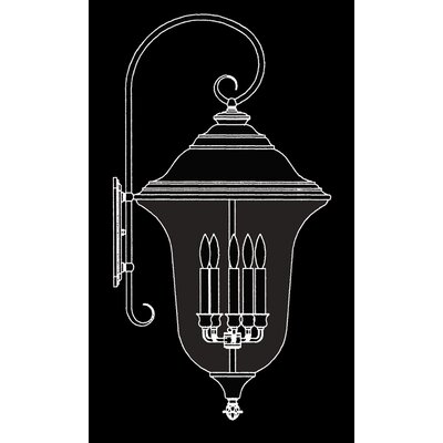 Framburg Carcassonne 5 Light Outdoor Wall Lantern