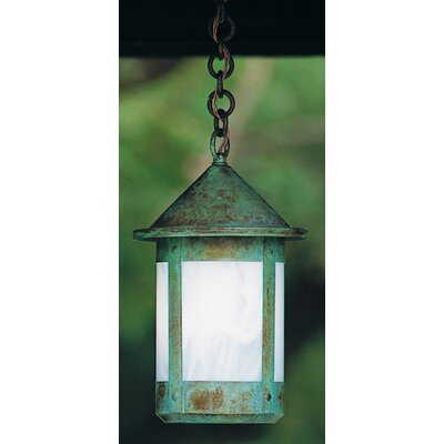 Arroyo Craftsman Berkeley 1 Light Outdoor Hanging Lantern