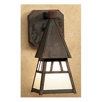Arroyo Craftsman Dartmouth 1 Light Outdoor Wall Lantern