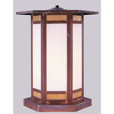 Arroyo Craftsman Etoile 1 Light Outdoor Post Lantern