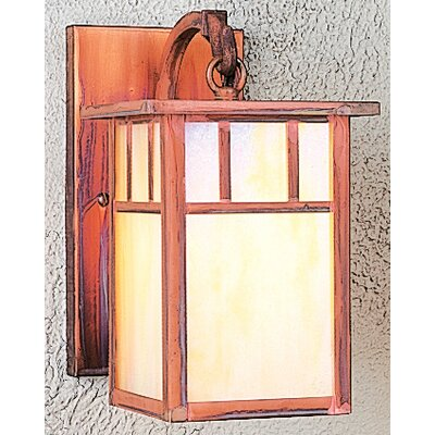 Arroyo Craftsman Huntington 1 Light Outdoor Wall Lantern