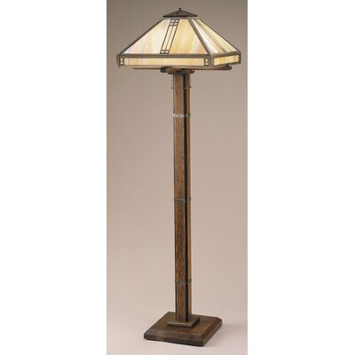 arroyo craftsman prairie floor lamp. Black Bedroom Furniture Sets. Home Design Ideas