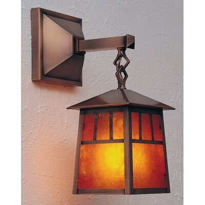 Arroyo Craftsman Raymond 1 Light Outdoor Wall Lantern
