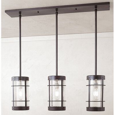 Arroyo Craftsman Valencia 3 Light Kitchen Island Pendant