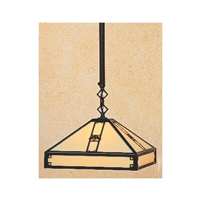 Arroyo Craftsman Pasadena 1 Light Foyer Pendant