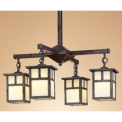 Arroyo Craftsman Mission 4 Light Chandelier