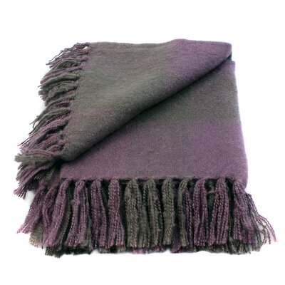 WovenWorkz Annette Faux Mohair Throw