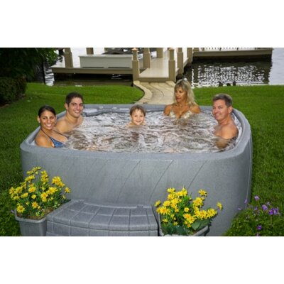Atlantic Outdoor 6 Person 18 Jet, 110 V Spa