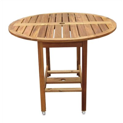 Atlantic Outdoor Round Folding Dining Table