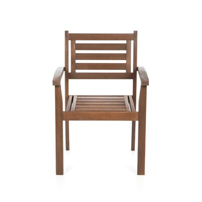 Atlantic Outdoor Stacking Dining Arm Chair