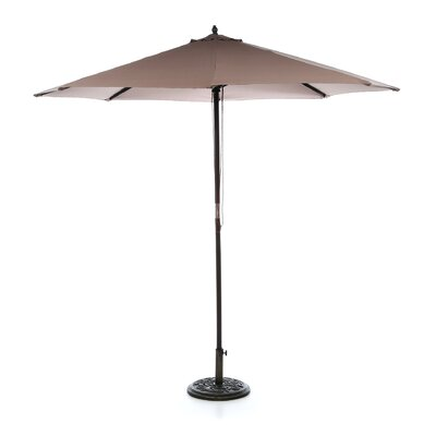 9' Hardwood Market Umbrella