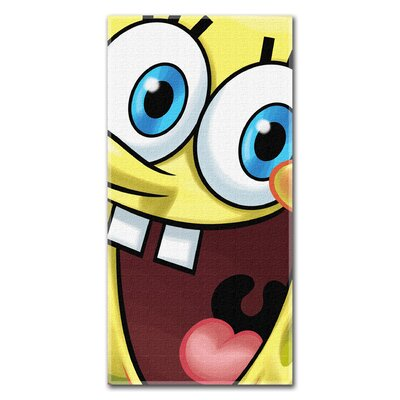 Northwest Co. Sponge Bob Big Smile Beach Towel