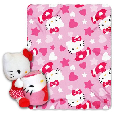 Northwest Co. Entertainment Hello Kitty Polyester Fleece Throw