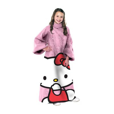 Northwest Co. Hello Kitty Polyester Throw