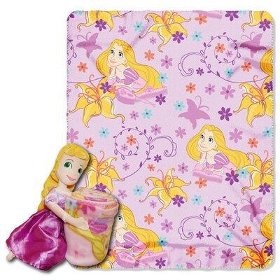 Rapunzel Polyester Fleece Throw