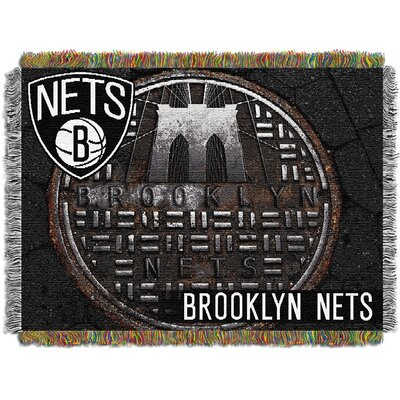 Northwest Co. NBA Brooklyn Nets Tapestry Throw