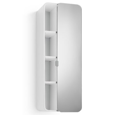 "WS Bath Collections Linea Bej 12"" x 31.9"" Surface Mount Medicine Cabinet"