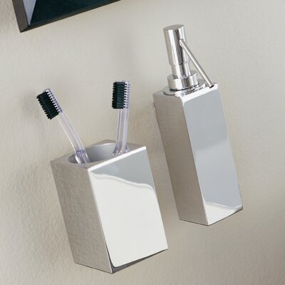 WS Bath Collections Metric Wall Toothbrush Holder