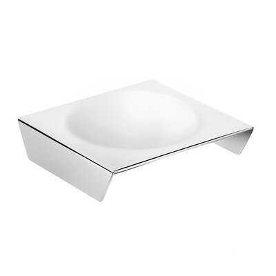 WS Bath Collections Kubic Class Free-Standing Soap Dish