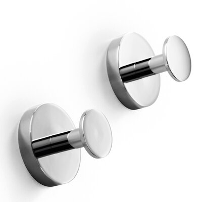 WS Bath Collections Duemilla Wall Mounted Single Hook