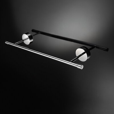 "WS Bath Collections Duemila 23.6"" Wall Mounted Towel Bar"