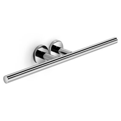 "WS Bath Collections Napie 19.7"" Wall Mounted Bathroom Double Towel Bar"