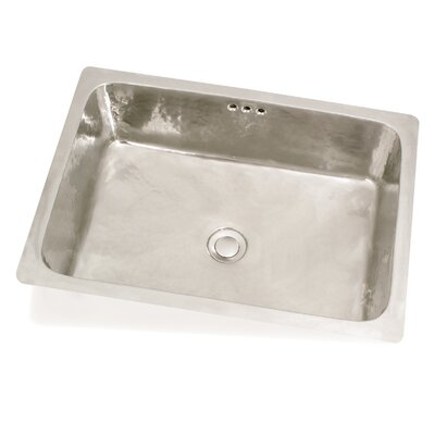 WS Bath Collections Metal Bathroom Sink