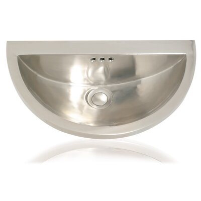 Metal Half Moon Bathroom Sink - Mini Seychelles 1020