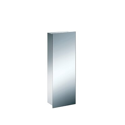 "WS Bath Collections Linea 32.7"" x 11"" Pika Medicine Cabinet in Stainless Steel"