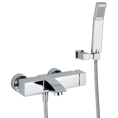 WS Bath Collections Linea Crui Volume Control Hand Shower Set