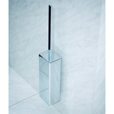 WS Bath Collections Urban Wall Mount Toilet Brush Holder in Polished Chrome