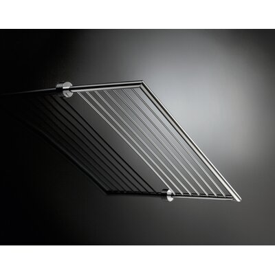 "WS Bath Collections Baketo 23.6"" x 10.2"" Towel Rack in Polished Chrome"
