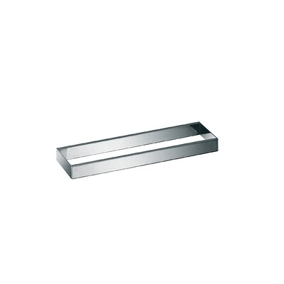 "WS Bath Collections Skuara 19.7"" Toilet Rail/Bracket in Polished Chrome"