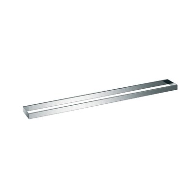 "WS Bath Collections Skuara 31.5"" Towel Rail/Bracket in Polished Chrome"