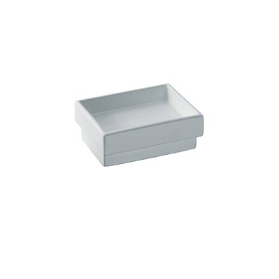 "WS Bath Collections Skuara 0.6""  Soap Dish in Stainless Steel"