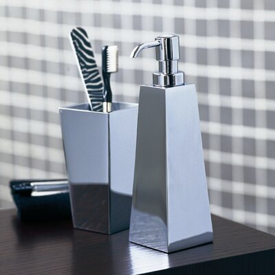 "WS Bath Collections Complements 2.4"" x 2.4"" Iside Soap Dispenser"