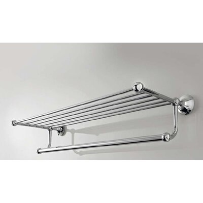 WS Bath Collections Vanessia Towel Rack in Polished Chrome