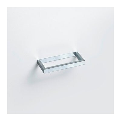 WS Bath Collections Urban Towel Ring in Polished Chrome
