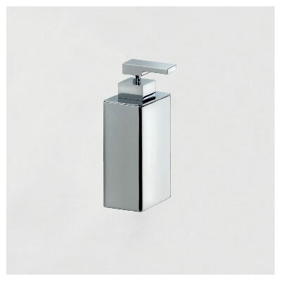 WS Bath Collections Urban Free Standing Soap Dispenser in Polished Chrome