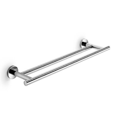 WS Bath Collections Napie Bathroom Double Towel Bar