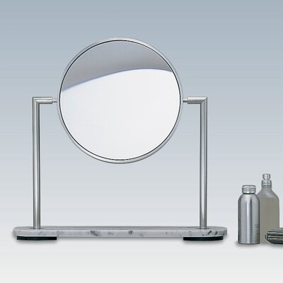 WS Bath Collections TS1 Freestanding Magnifying (3X) Makeup Mirror